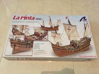Maqueta barco La Pinta