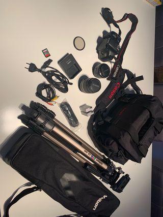 Camara Reflex 550D