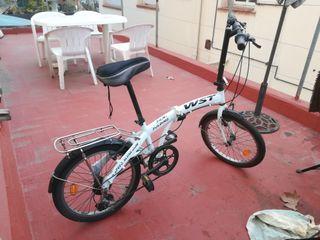 Bicicleta Plegable Folding. Como nueva