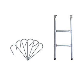 Escalera y ganchos cama elástica