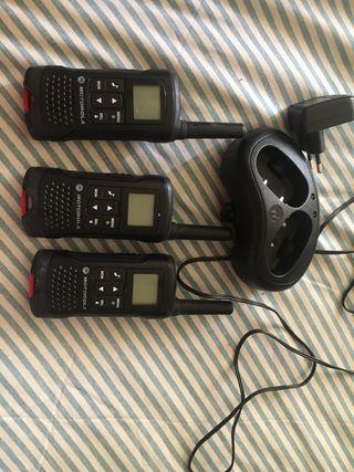 Walkie-talkie Motorola tlkr