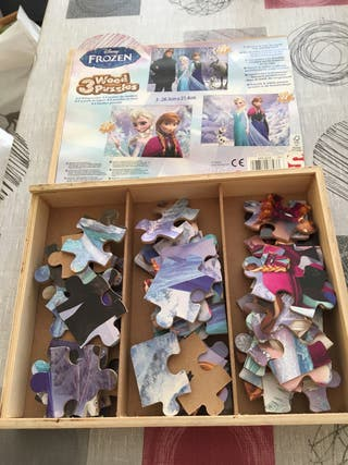 Solo esta semana!! Puzzles frozen