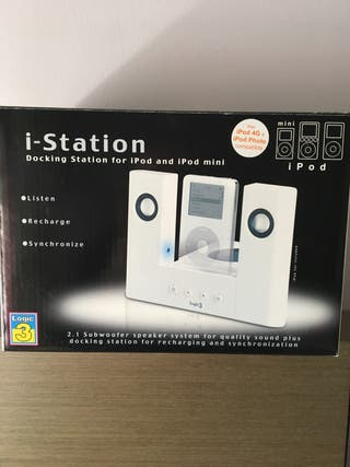 Altavoces iPod Logic3