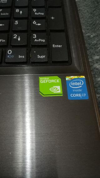 PORTATIL MSI CX61 2QC i7 gt920M SSD 240GB