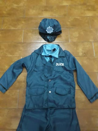 Disfraz Policía 7-9 años.