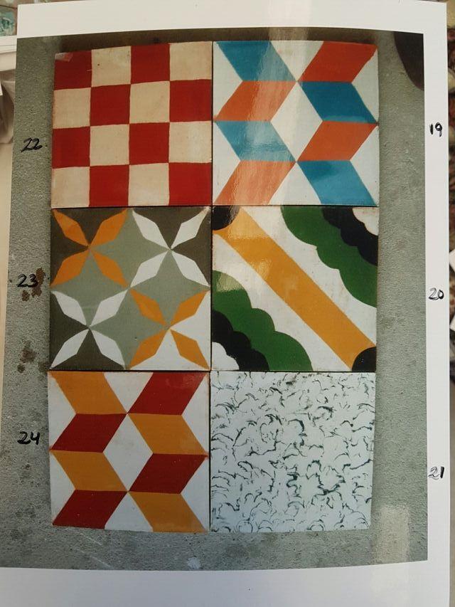 azulejos hidráulico