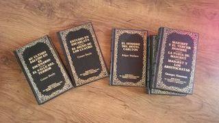 Colección libros de misterio y crímenes