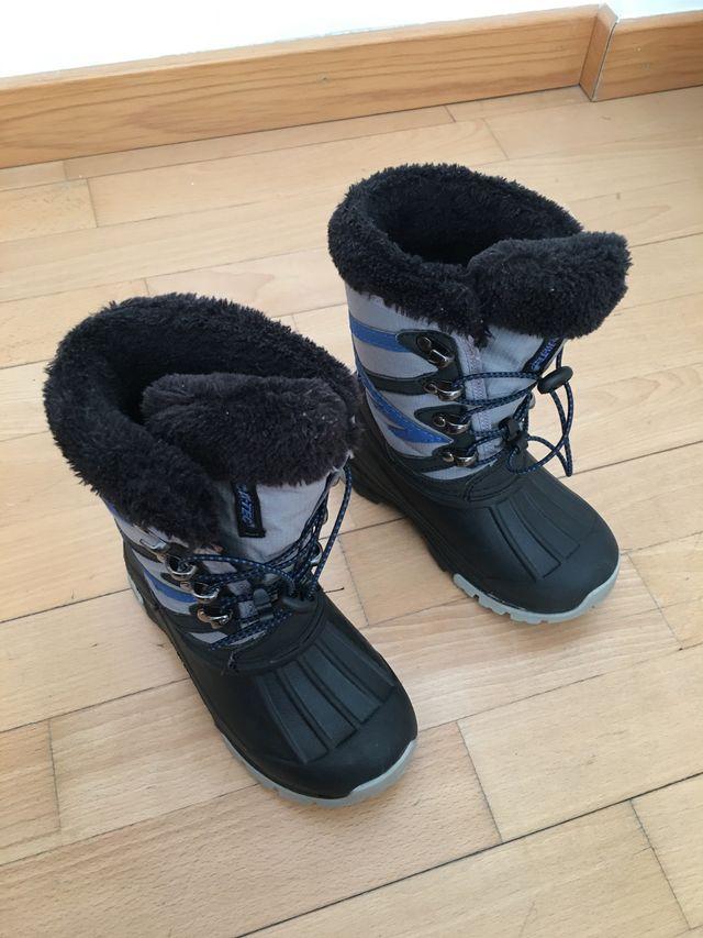 venta directa de fábrica fábrica auténtica los mejores precios 5617a044e9 botas descanso nieve niño - malmabloggen.com