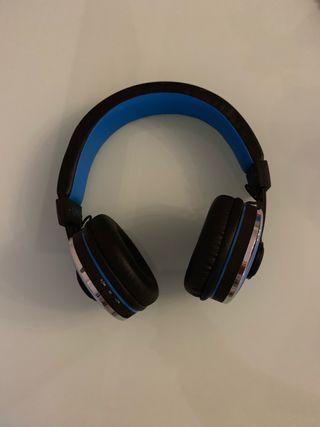 Auriculares bluetooth con batería recargable