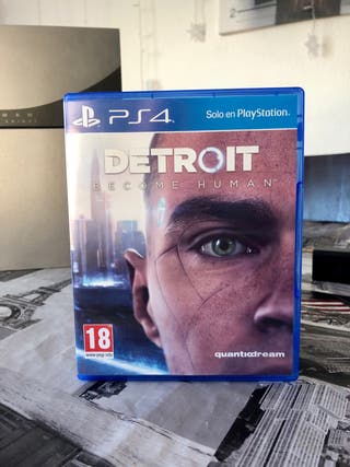 Detroit ps4 juego playstation 4