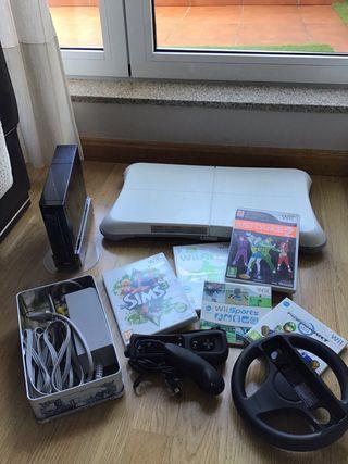 Wii by Nintendo con juegos y accesorios