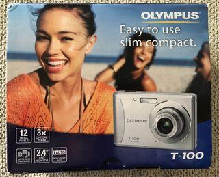 Cámara de fotos Olympus T-100