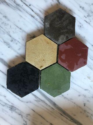 Azulejo hidraulico mosaico