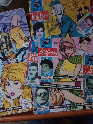 Cuentos femeninos años 60