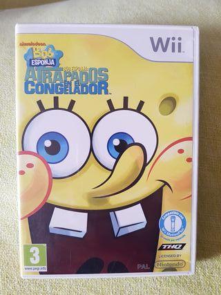 Bob Esponja Wii