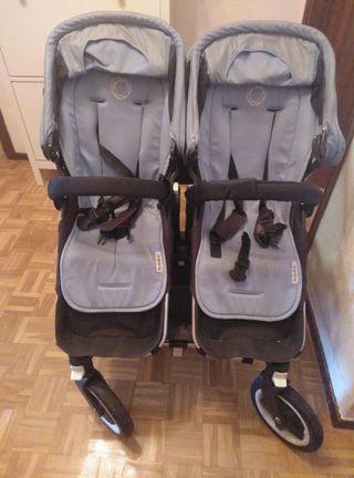Carrito Gemelar Bugaboo donkey Twin