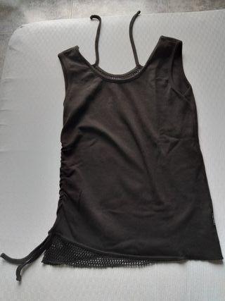 Top / camiseta de tirantes gótico Spiral talla XL