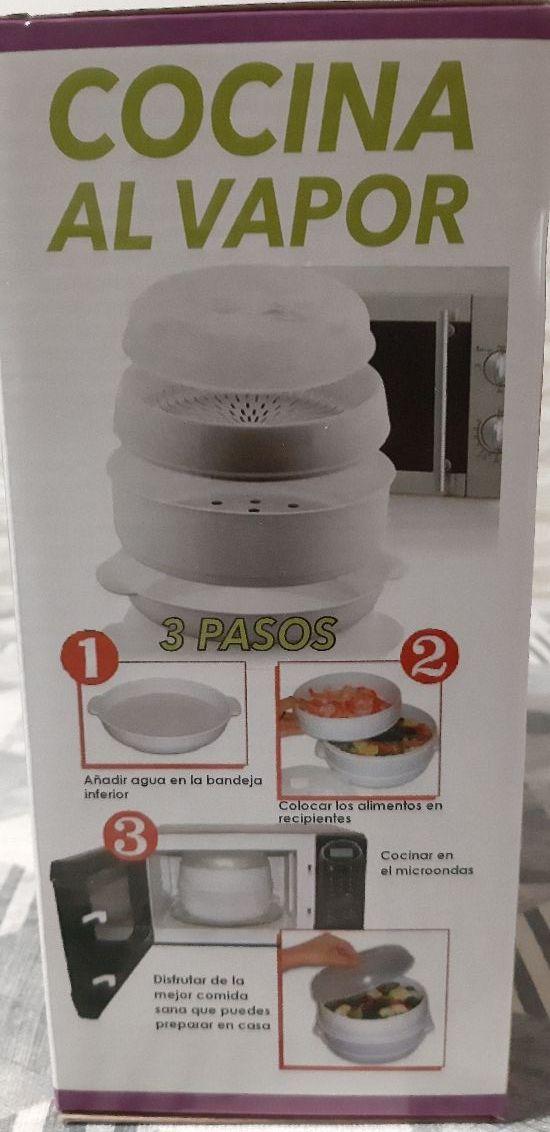 Cocina Vapor Microondas | Recipiente Cocina Al Vapor Microondas De Segunda Mano Por 2 En