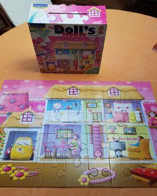 puzle 45 piezas grandes casa