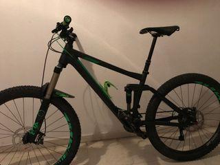 Bicicleta de Montaña : CUBE STEREO 160 HPA - SL 27