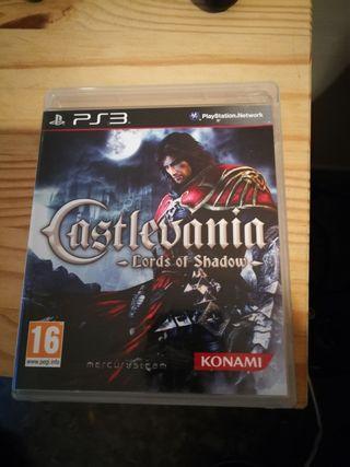 juego ps3. Castlevania Lords of Shadow.