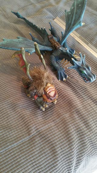 lote 2 dragones megabloks