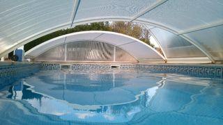 cubierta para piscina 4*8m, Mallorca