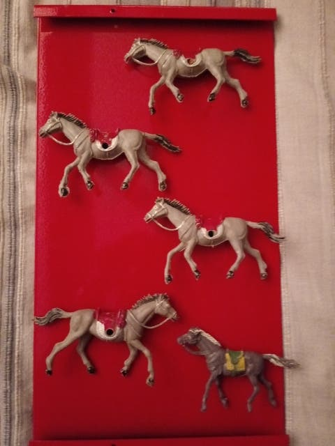caballos juguete antiguo