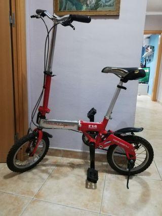 Bicicleta Plegable Monty F14