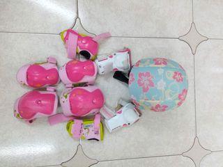 patines (equipacion y casco)