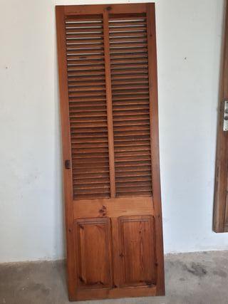 Puerta de persiana