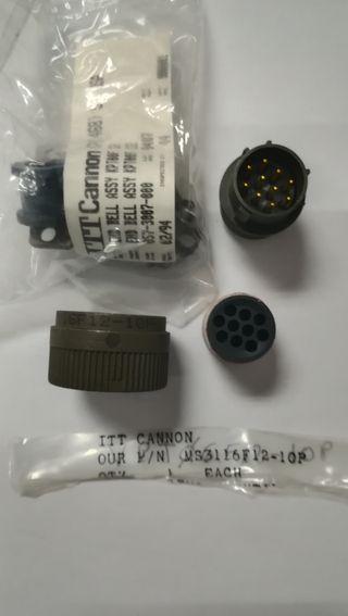 CONECTOR MS3116F12-10/MS3476W12-10P