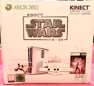 XBOX 360 320 Gb Edición Limitada STAR WARS