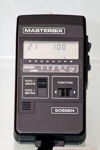 Fotómetro Gossen Mastersix