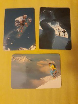 3 Almanaque bolsillo Deportes de Nieve