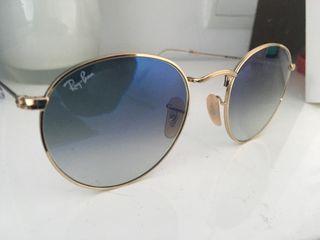 Gafas de sol RAYBAN ROUND METAL original nueva-55%