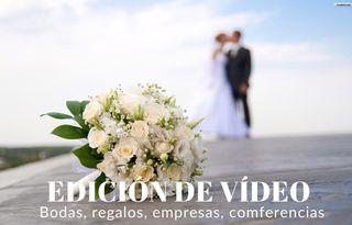 Edición vídeo boda, evento..