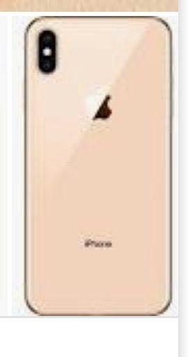 Vendo iPhone XS MAX RECIÉN COMPRADO 64gb, dorado