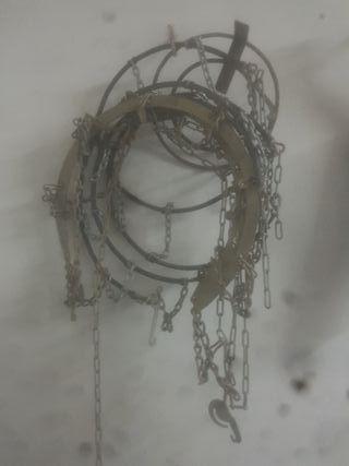 cadenas para rueda 13 en perfecto stado originales