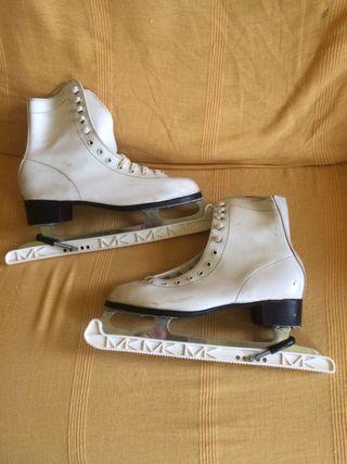 Patines sobre hielo N 40