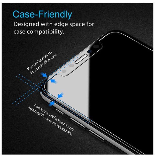 Cristales protectores pantalla iPhone X / XS