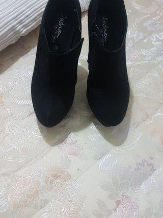 botines bajados de tacón