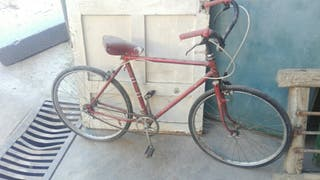 Bicicleta antigua .