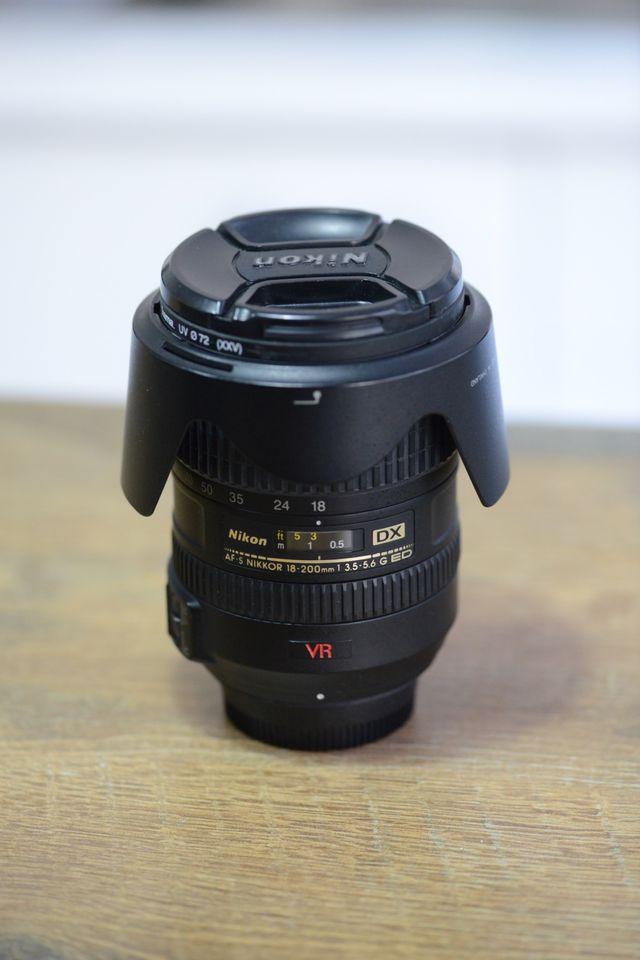 Nikon 18-200mm 1:3.5-5.6 AF-S G DX IF ED VR NIKKOR
