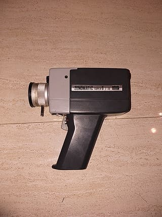 filmadora de vídeo antigua