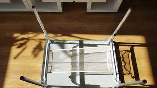 Mesa de camping para 2 (plegable y muy ligera)