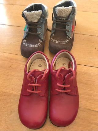 Zapatos niño T23 Kickers