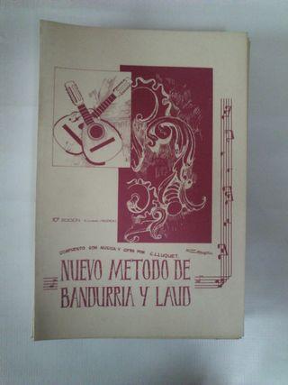 Nuevo metodo de Bandurria y Laud Lluquet
