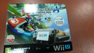 Consola Wii U + Mario Kart