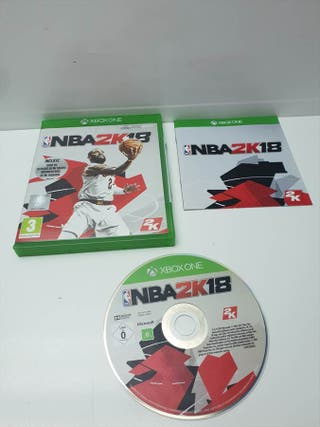 Juego Xbox One NBA 2K18